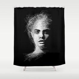 CARA Duschvorhang