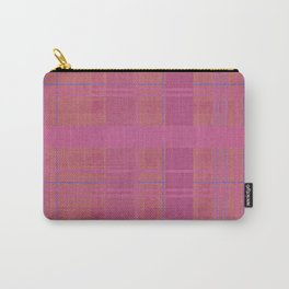 pink madras Carry-All Pouch