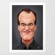 Celebrity Sunday ~ Quentin Tarantino Art Print