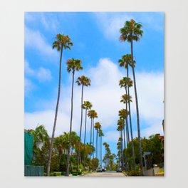 California lOVE Canvas Print