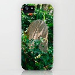 Charleston Unitarian Church Cemetery VIII iPhone Case