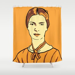 Emily Dickinson Shower Curtain