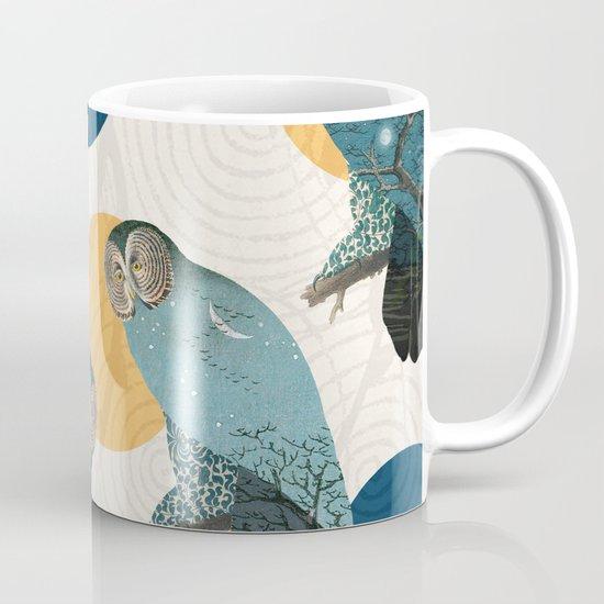 Night Owl Polka Coffee Mug