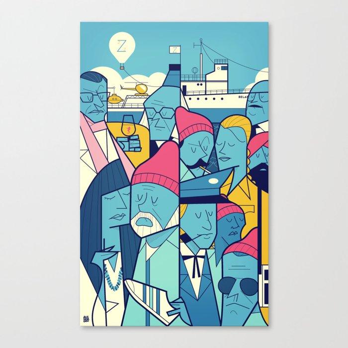 Acquatic Life Canvas Print