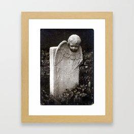 Tombstone, Mount Zion Cemetery, Georgetown Framed Art Print