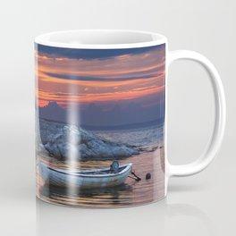 Last Light at Peggy's Cove Harbor Coffee Mug