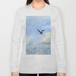 Flying stork Long Sleeve T-shirt