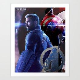 Captain Rodgers Art Print