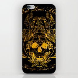 All That Lives iPhone Skin