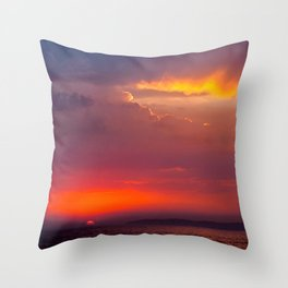 Surfers Delight Throw Pillow