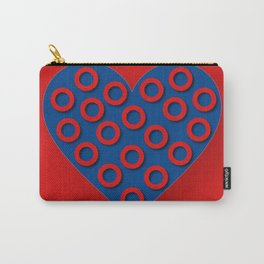 Fishman Donuts Heart Carry-All Pouch