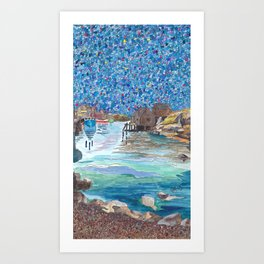 In the Cove Art Print