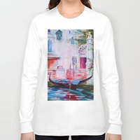venice Long Sleeve T-shirts featuring Venice by OLHADARCHUK