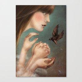 The Secret  Canvas Print