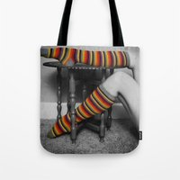 morocco Tote Bags featuring morocco socko by Elle Hanley Photography