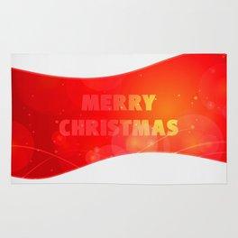 Christmas Wave Rug