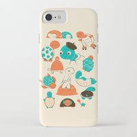 turtles iPhone & iPod Cases featuring Turtles by Jay Fleck