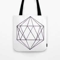 prism Tote Bags featuring Prism by Bridget Davidson