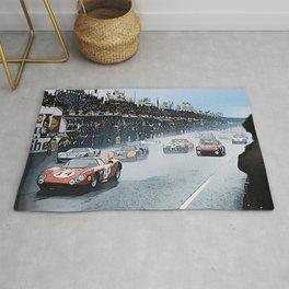 Le Mans 1964 Start Rug