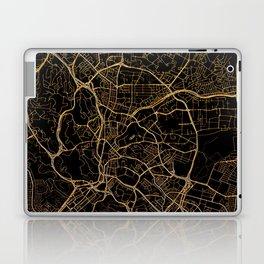 Kuala Lumpur map, Malaysia Laptop & iPad Skin
