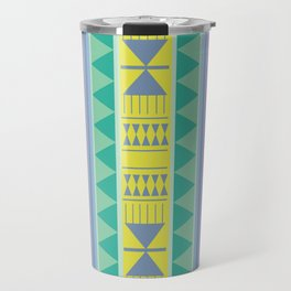Aztec Bedouin Poppy Travel Mug