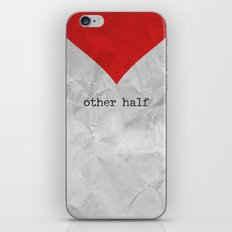 find you half (part 2 of 2) iPhone & iPod Skin
