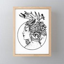 Ink Fauna Framed Mini Art Print