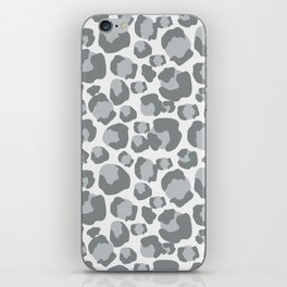 Snow Leopard Feline iPhone Skin