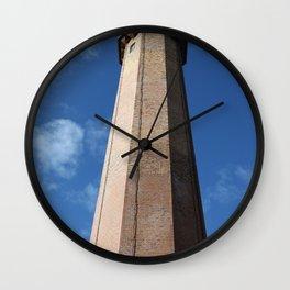 Lighthouse Flügge - Leuchtturm Flügge Wall Clock