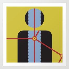 One: Flow Art Print