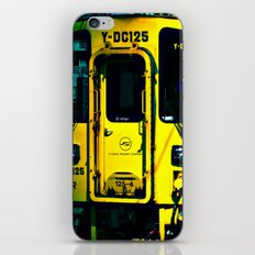 J Train iPhone & iPod Skin