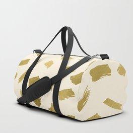 Gold Strokes Duffle Bag