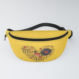 Music in every heartbeat Fanny Pack