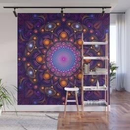 """""""Guardian"""" Mandala painting Wall Mural"""