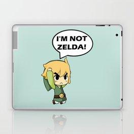 I'm not Zelda! (link from legend of zelda) Laptop & iPad Skin