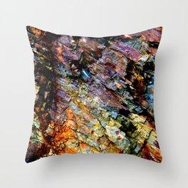 Spectrum Rock Throw Pillow