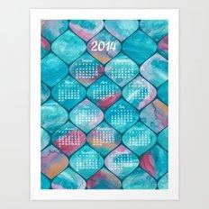 2014 Watercolor Wonders Calendar Art Print