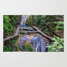 Valley of 33 waterfalls Rug