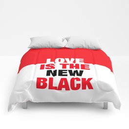LOVE is the new black IV – Plain Comforters