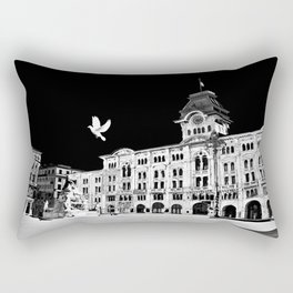 Piazza Unità Rectangular Pillow