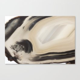 Blustering Windscape in an Agate Canvas Print