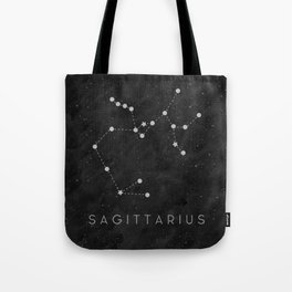 Zodiac Sign - Sagittarius Tote Bag