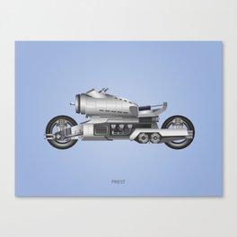 Priest: Turbo Bike Canvas Print