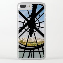 Clock at the Musee d'Orsay Clear iPhone Case