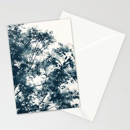 Blue Leaves #1 Stationery Cards