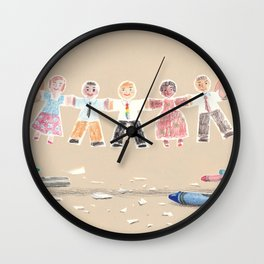 You Are My People Wall Clock