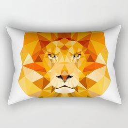 Lion, The King of the Jungle Rectangular Pillow