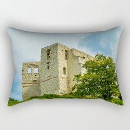 Castle in Kazimierz Dolny Rectangular Pillow