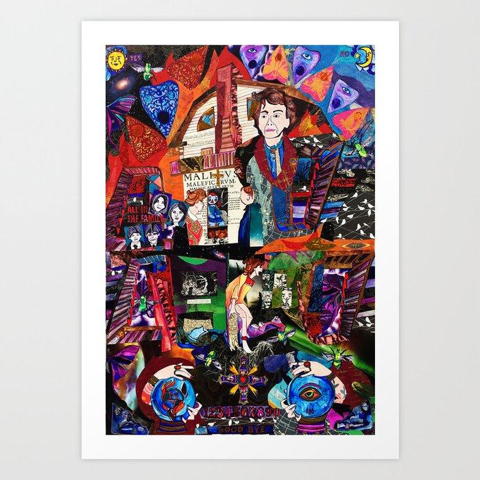 Lorraine Warren Art Print