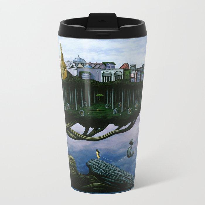 The Actuarium Metal Travel Mug